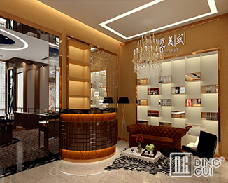 JE04 Creative Design High End Luxury Jewelry Display Showcase Furniture