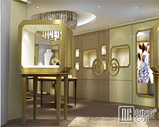 JE13 High End Luxury Jewellry Display Showcase Furniture Design