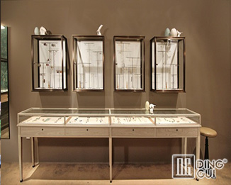 JE14 High End Luxury Wooden Jewellry Display Showcase Furniture