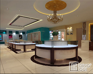 JE19 Wholesale Jewellry Shop Display Showcase Furniture Desugn