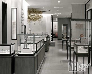 JE20 High End Fashion Jewellry Shop Showroom Display Showcase Furniture Design