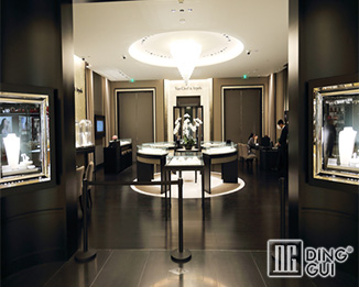 JE24 High End Luxury Jewellry Shop Display Showcase