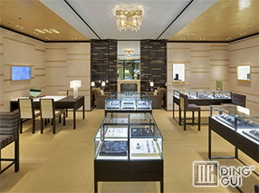 JE25 Custom Design High End Jewellry Shop Display Showcase Furniture