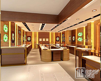 JE30 High End Luxury Jewellry Display Showcase Furniture Design