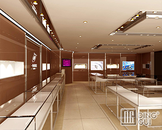 JE32 Custom Design Modern Jewellry Shop Display Showcase Furniture