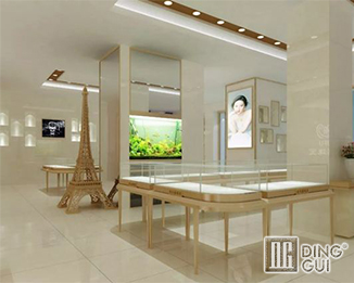 JE34 Free Design High End Luxury Jewelry Shop Display Showcase Furniture