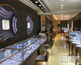 JE35 High End Luxury Jewellry Display Showcase Furniture Design