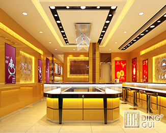 JE39 Custom design High End Jewellry Shop Display Showcase Furniture