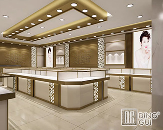 JE41 Custom Design High End Jewelry Shop Display Showcase Furnitrue