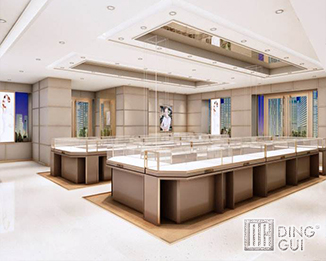 JE43 High End Fashion Jewelry Shop Display Showcase Furniture Design