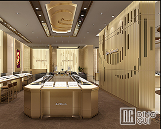 JE44 High End Luxury Jewellry Shop Display Showcase Furniture Design