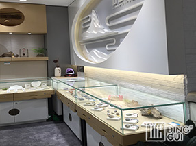 JE49 Custom Design High End Luxury Jewellry Shop Display Showcase Furniture