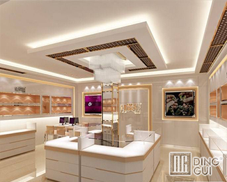 JE50 Modern High End Luxury Jewellry Shop Display Showcase Furniture Design