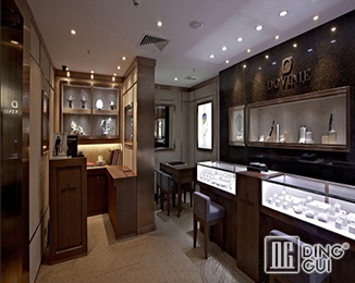 JE51 Custom High End Quality Jewellry Store Display Showcase Furniture Design